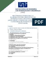 Rmendaciones Elaboracion Protocolo Todas Categorias