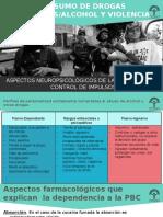Agresividad Violencia y Consumo de Alcohol y Cocaínicas 290216
