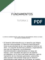 FUNDAMENTOS TUTORIA 2