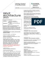 Syllabus Revit Architecture 2016