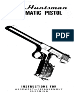 Colt Huntsman Automatic Pistol Instruction Manual