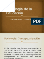 Sociología de La Educación 1