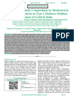 Assessment of Body Composition by Bioelectrical Impedance Analysis in Type 2 Diabetes Mellitus Women of Central India