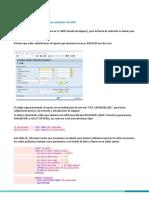 Cómo Hacer Submit a Reportes Estándar de SAP IBL070916