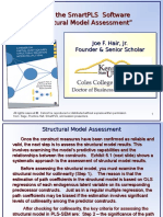 4-1 - How to use SmartPLS software_Structural Model Assessment_3-5-14.ppt