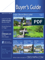 Coldwell Banker Olympia Real Estate Buyers Guide (September 10th 2016)