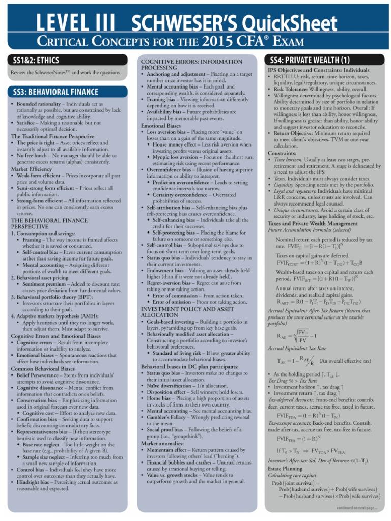 schweser cfa level 2 economics pdf
