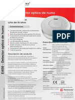 Detector de Humos-ei650 Data Sheet Es