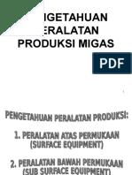 peralatan Produksi Migas