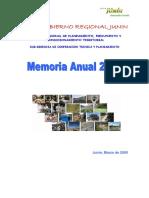 Memorial Anual 2008