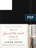 NKJV Journal the Word Large Print