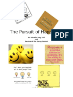 unit booklet the pursuit of happiness