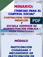 Modulo Participación Ciudadna