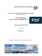 Lectura Dirigida_Cambio de Temperatura en Los Océanos.