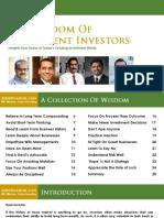 Wisdom of Intelligent Investors (SafalNiveshak.com)