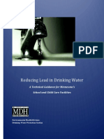 Reducing Lead in Drinking Water