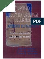 Comentario Del Contexto Cultural de La Biblia Antiguo Testamento (OCR) (Google)