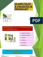 Algunos Aspectos en Materia de Evaluación de Los Aprendizajes (3)