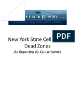 Schumer Map 9 7 16 - Upstate NY Cell Phone Dead Zones as Reported by Constituents
