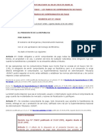 COMPROBANTES DE PAGO Decreto Ley N° 25632 y R.S Nº 007-99SUNAT - LEY Y REGLAMENTO DE LOS COMPROBANTES DE PAGO