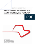 Livro Contribuições Para a Gestão de Pessoas Na Administração Pública