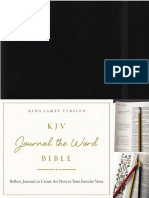 KJV Journal the Word