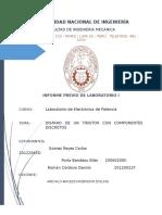 Informe Previo 1 Laboratorio de Electornica de Potencia