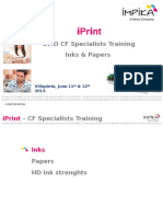 3_CF Specialist Training IPrint - Inks & Papers