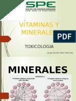 Vitaminas y minerales en la pecuaria