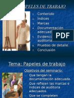 1. Documentacion en Papeles de Trabajo (Capitulo 13)