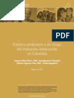 5 - Factores Protectores y de Riesgo Del Embarazo en Colombia