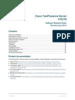 Cisco TelePresence Server Software Release Notes 4 0 2 8