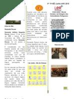 Boletim Informativo Junho 2010