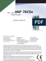 GPS 76 Csx Manual