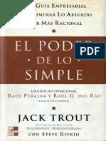 El Poder de Lo Simple - Jack Trout