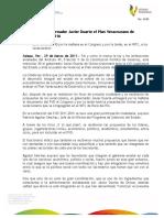 29 03 2011 - El gobernador Javier Duarte de Ochoa presentará el Plan Veracruzano de Desarrollo 2011-2016