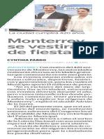 07-09-16 Monterrey se vestirá de fiesta