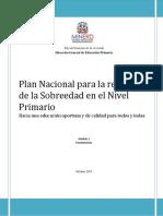 Plan Nacional Reducción Sobreedad Módulo 1 Revisado