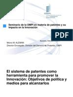 políticas patentes marcos aleman
