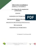 Instrumentacion Didactica Analisis CD - Copia