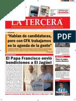 Diario La Tercera 08.09.2016