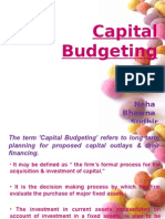 Fm Presentation Capital Budgeting