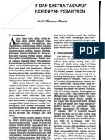 artikel sufisme tasawuf