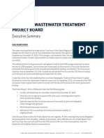 Core Area Wastewater Treatment Project Board - Final Report - Sept. 7, 2016