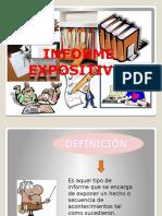 informe expositivo