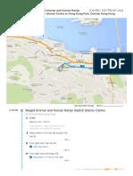 Masjid Ammar to Hong Kong Park Maps