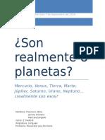Son Realmente 8 Planetas