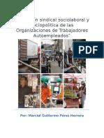 La accion sindical, sociolaboral y sociopolítica de las Organizaciones de Trabajadores Autoempleados