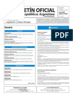 Boletín Oficial de la República Argentina, Número 33.456. 07 de septiembre de 2016