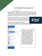 Tutorial Adobe Photoshop Cs